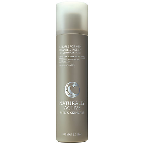 Buy Liz Earle for Men Cleanse & Polish™ Hot Cloth Cleanser, 100ml Online at johnlewis.com