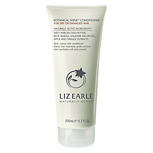 Buy Liz Earle Botanical Shine Conditioner for Dry or Damaged Hair, 200ml Online at johnlewis.com
