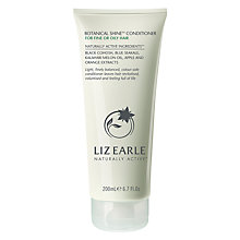 Buy Liz Earle Botanical Shine Conditioner for Fine or Oily Hair, 200ml Online at johnlewis.com