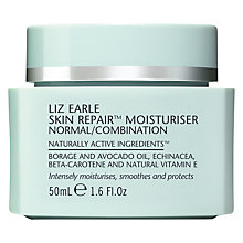 Buy Liz Earle Skin Repair Moisturiser™ - Normal/Combination, 50ml Online at johnlewis.com