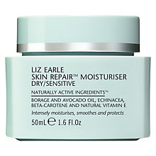 Buy Liz Earle Skin Repair Moisturiser™ - Dry/Sensitive, 50ml Online at johnlewis.com