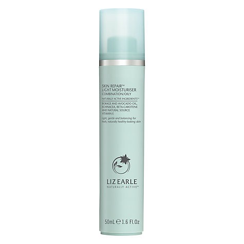 Buy Liz Earle Skin Repair Moisturiser™ Light - Combination/Oily, 50ml Online at johnlewis.com