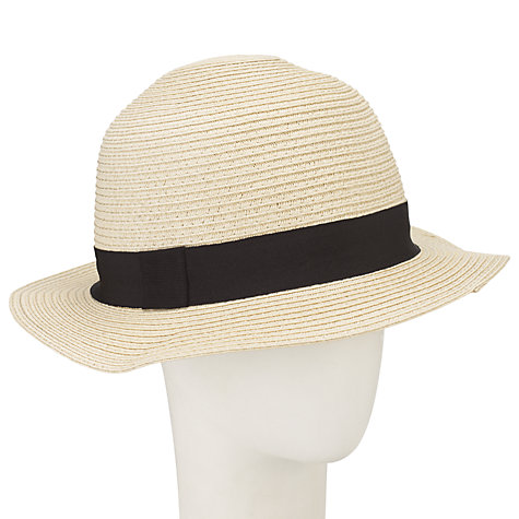 Buy John Lewis Margot Hat, Natural Online at johnlewis.com