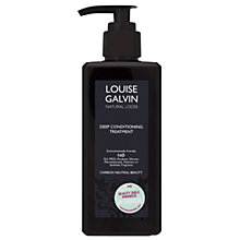 Buy Louise Galvin Deep Conditioning Treatment, 300ml Online at johnlewis.com