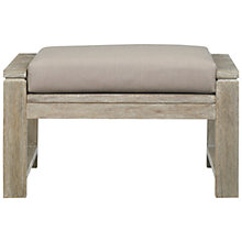 Buy John Lewis Croft Collection Bilbao FSC Outdoor Lounging Stool Online at johnlewis.com