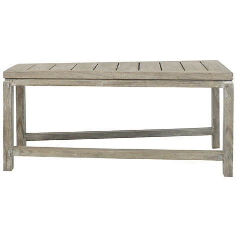 Buy John Lewis Bilbao Rectangular Outdoor Lounging Table, FSC Eucalyptus, 75 x 73cm Online at johnlewis.com