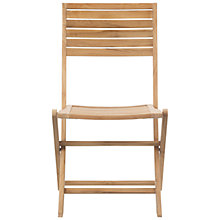 Buy John Lewis Leckford FSC Folding Outdoor Chair Online at johnlewis.com