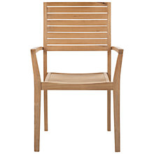 Buy John Lewis Leckford FSC Stacking Outdoor Armchair Online at johnlewis.com