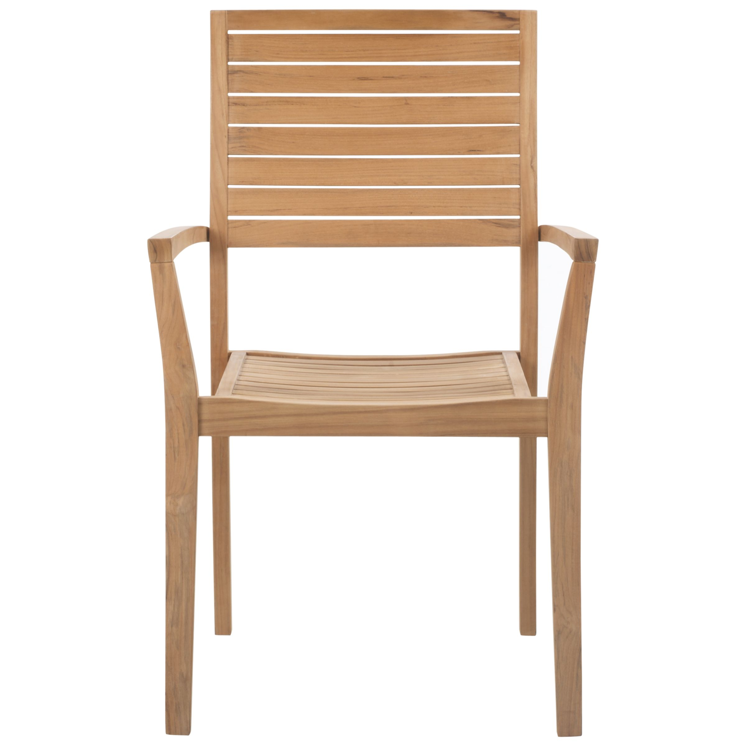 John Lewis Leckford FSC Stacking Outdoor Armchair