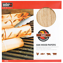 Buy Weber Firespice FSC Wood Papers, Pack of 10 Online at johnlewis.com