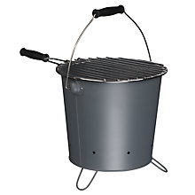 Buy John Lewis Barbecue Bucket, Steel Grey Online at johnlewis.com