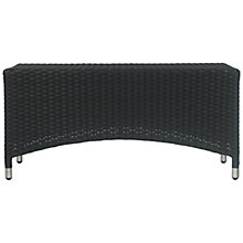 Buy John Lewis Terrace Rectangular Outdoor Coffee Table, Synthetic Wicker, 90 x 44cm Online at johnlewis.com