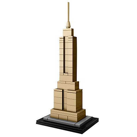 Buy LEGO Architecture Empire State Building Online at johnlewis.com