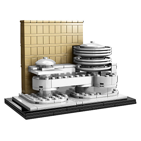 Buy Lego Architecture Guggenheim Museum Online at johnlewis.com