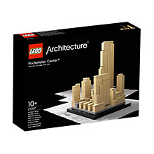 Buy LEGO Architecture Rockefeller Center Online at johnlewis.com
