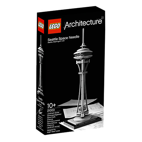 Buy LEGO Architecture Seattle Space Needle Online at johnlewis.com