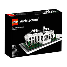 Buy LEGO Architecture The White House Online at johnlewis.com