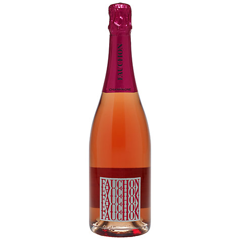 Buy Fauchon Rosé Champagne, 75cl Online at johnlewis.com