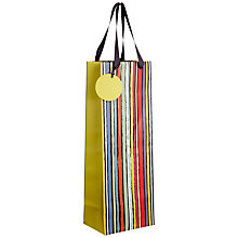 Buy John Lewis Sketch Stripe Bottle Bag, Multi Online at johnlewis.com