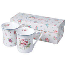 Buy Cath Kidston Floral Mugs, Set of 2 Online at johnlewis.com