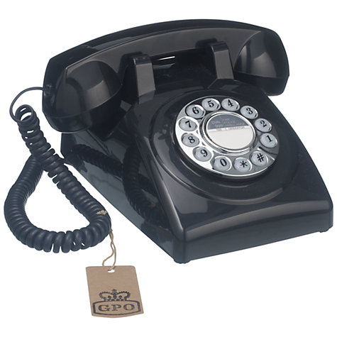 Buy GPO 1970's Retro Push Button Dialling Phone Online at johnlewis.com