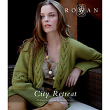 Buy Rowan City Retreat Knitting Patterns Book Online at johnlewis.com