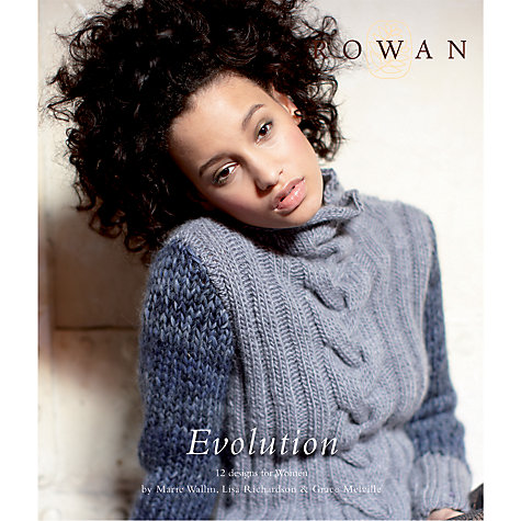 Buy Rowan Evolution Patterns by Kim Hargreaves Knitting Book Online at johnlewis.com