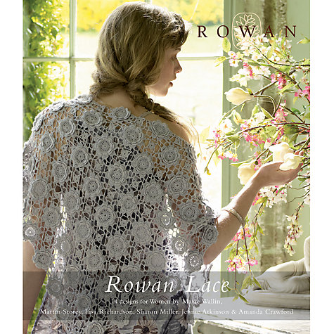 Buy Rowan Lace Knitting & Crochet Patterns Book John Lewis