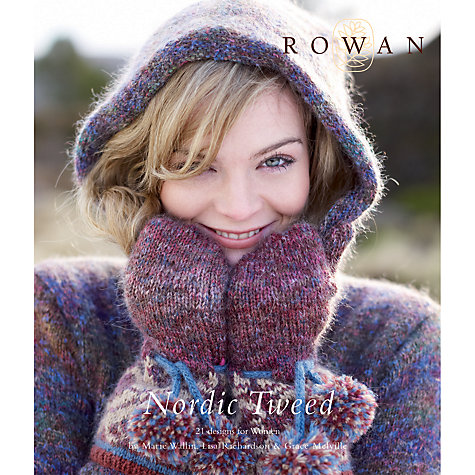 Buy Rowan Nordic Tweed Knitting Patterns Brochure Online at johnlewis.com