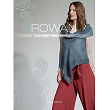 Buy Rowan Studio 24 Knitting Patterns Book Online at johnlewis.com