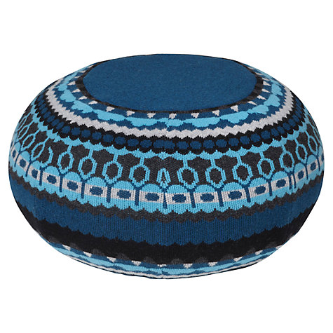 Buy Donna Wilson Ernest Pouffe, Treecloud Blue Online at johnlewis.com