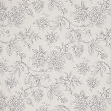Buy John Lewis Azalia Fabric, Grey Online at johnlewis.com