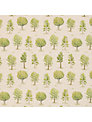 Voyage New Forest Fabric, Green