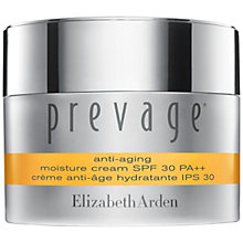 Buy Elizabeth Arden Prevage® Anti-Aging Moisture Cream SPF 30, 50ml Online at johnlewis.com