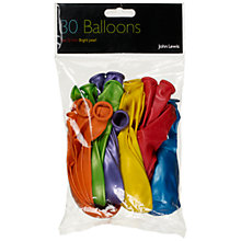 Buy John Lewis Balloons, Multi, Pack of 30 Online at johnlewis.com