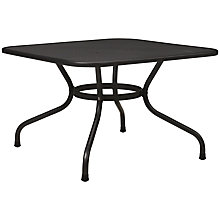 Buy John Lewis Henley by Kettler Square Outdoor Coffee Table, Steel, 80 x 80cm Online at johnlewis.com