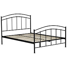 Buy John Lewis Mercury Bedstead, Black, Kingsize Online at johnlewis.com