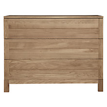 Buy Ethnicraft Azur Wide 3 Drawer Chest Online at johnlewis.com