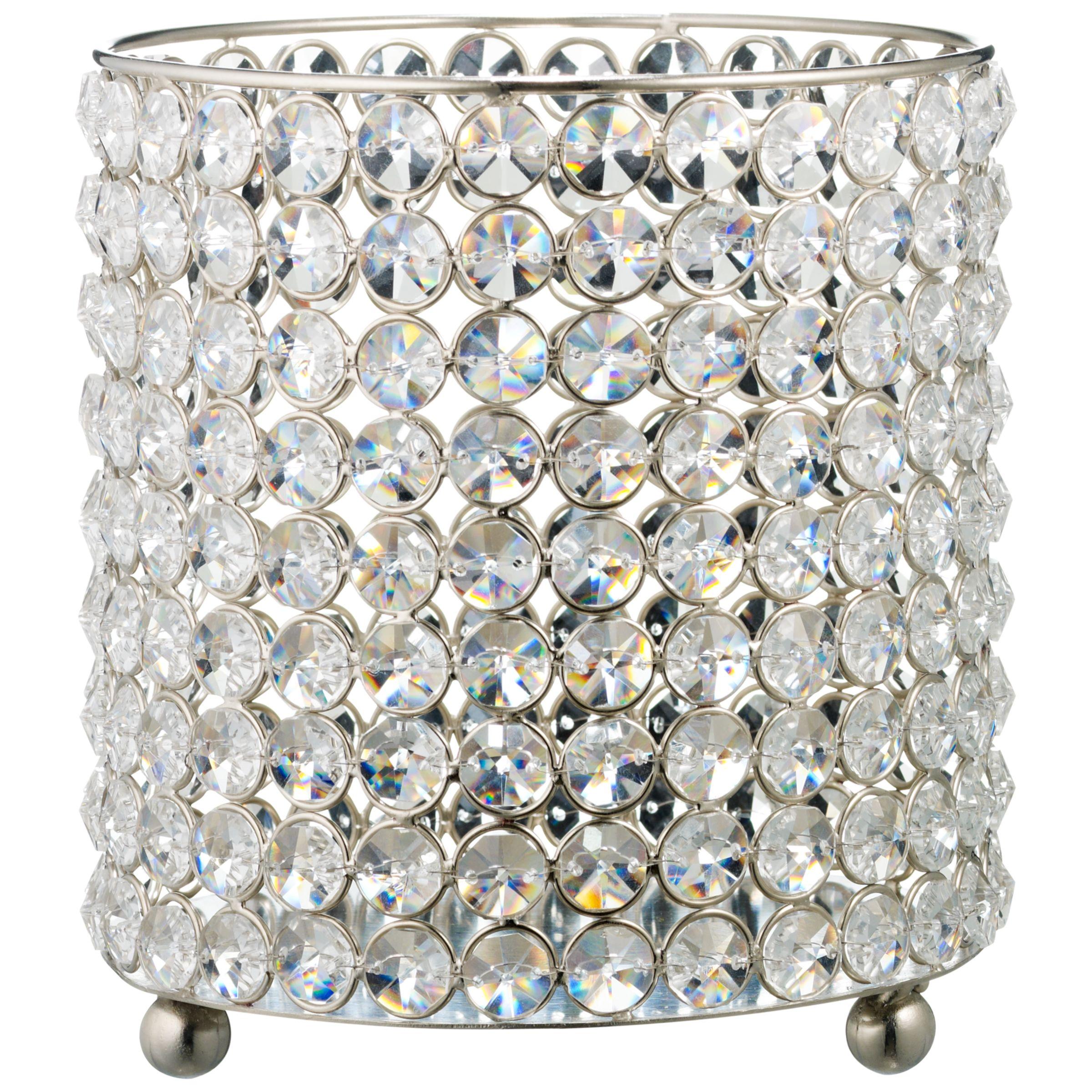 John Lewis Crystal Tealight Holders