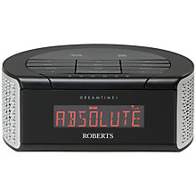 Buy ROBERTS DreamTime 2 DAB/FM Clock Radio Online at johnlewis.com