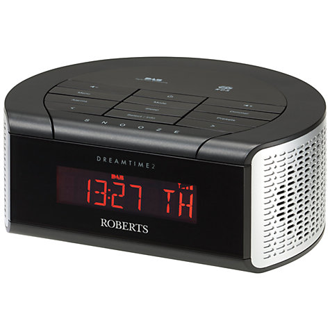 Buy ROBERTS DreamTime 2 DAB/FM Digital Clock Radio Online at johnlewis.com