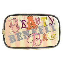 Buy Benefit Small Beauty Bag Online at johnlewis.com