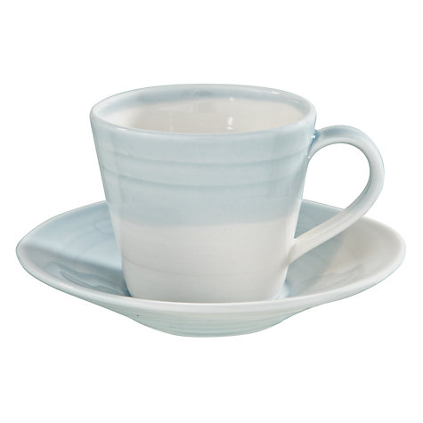 Buy Royal Doulton 1815 Espresso Saucer, Dia.11cm, Blue Online at johnlewis.com