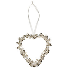 Buy Parlane Bell & Button Heart, Small Online at johnlewis.com