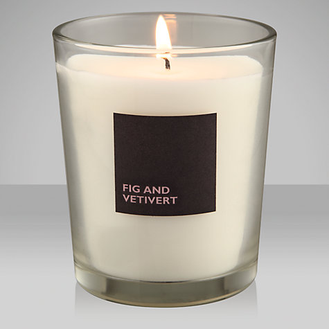 Buy John Lewis Fig & Vetivert Scented Candle In a Jar Online at johnlewis.com