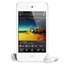 Buy Apple iPod touch, 32GB, White Online at johnlewis.com