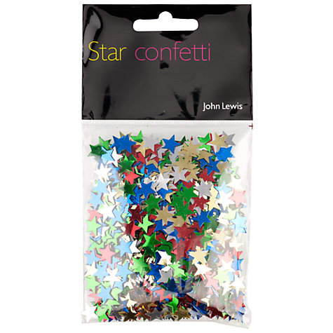 Buy John Lewis Star Foil Confetti Online at johnlewis.com