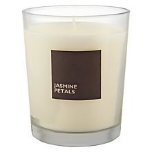 Buy John Lewis Jasmine Petals Scented Candle In A Box Online at johnlewis.com