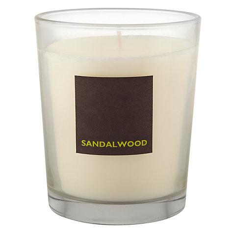 Buy John Lewis Sandalwood Scented Candle In A Box Online at johnlewis.com