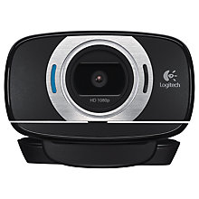 Buy Logitech C615 HD Webcam Online at johnlewis.com